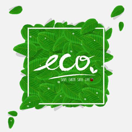 ECO concept 矢量图像