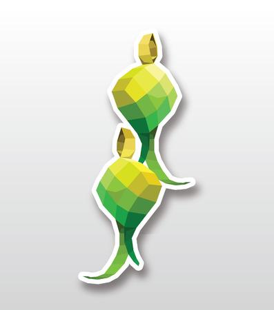 Ketupat のアイコン  イラスト・ベクター素材