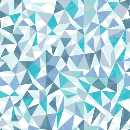 Geometric triangles in icy blue tones. Great for textiles, stationary, wrapping paper, products or backgrounds.