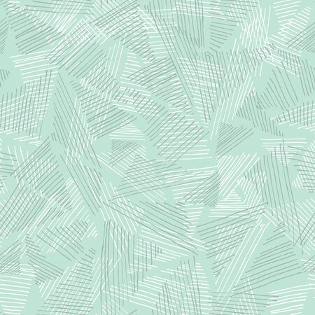 Hand drawn layered triangle abstract shapes. Vector repeat pattern. Great for packaging, gifts, home decor, backgrounds.