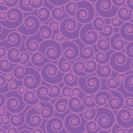 Pink wave swirl vector repeat pattern design. Great for home decor, wrapping, scrapbooking, wallpaper, gift, kids.