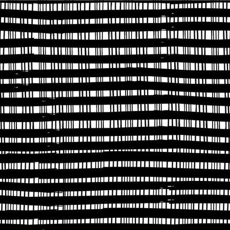 Mono black and white check overlapping stripe. Great for modern wallpaper, backgrounds, invitations, packaging design projects. Surface pattern design.