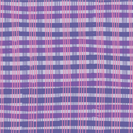 Textured gingham check overlapping stripe. Great for modern wallpaper, backgrounds, invitations, packaging design projects. Surface pattern design.