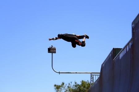 taz: Skateboarding halfpipe Taz Editorial