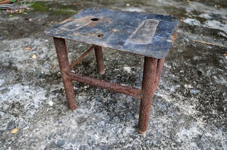 folkways: rust chair