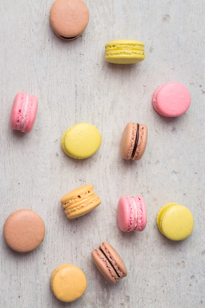 Macarons are small round delicious french confections, made with meringue and a sweet flavored filling.