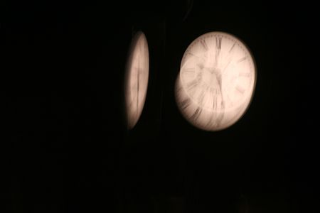 fading: A two-sided clock fading away