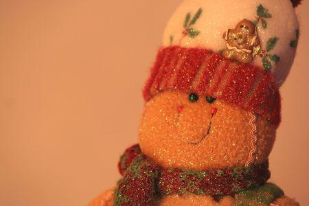 gingerbread man: A gingerbread man
