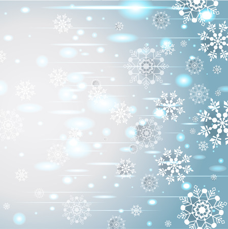 place to shine: Shine abstract holiday background with snoweflakes. Place for text Illustration
