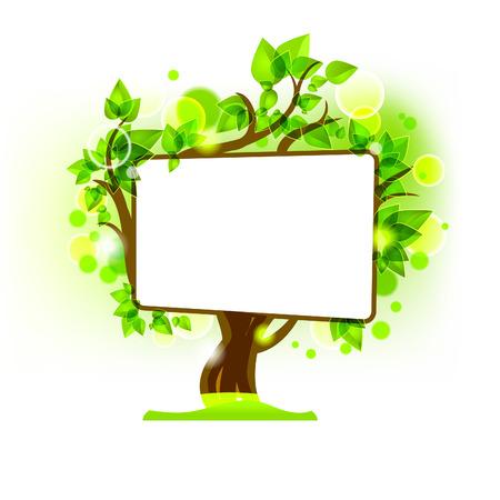 Vector tree Иллюстрация