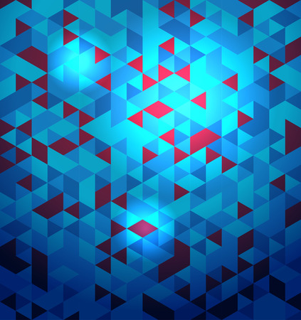Blue textured background. Vector abstract