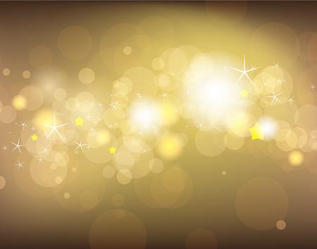 festive background: Golden festive background Illustration