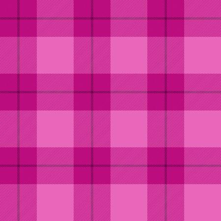 seamless pattern background: Rosa Tartan nahtlose Muster Hintergrund