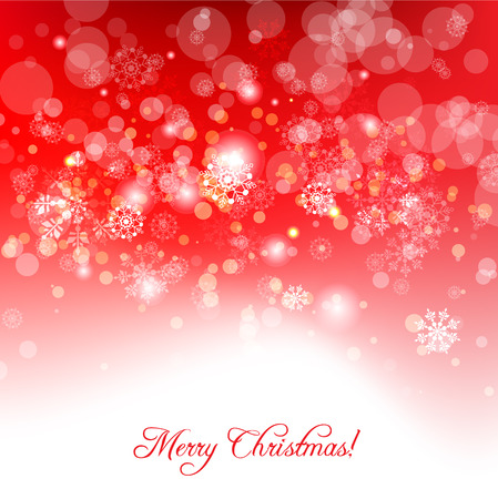 place for text: Red holiday background with place for text