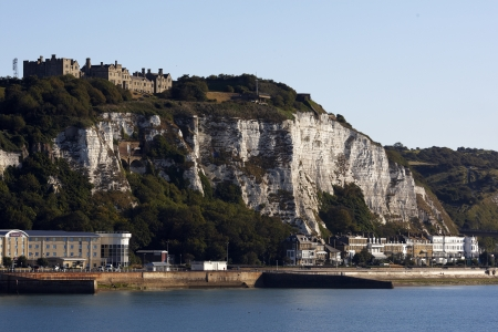 dover: Dover cliffs and sea front Editorial