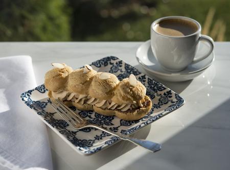 Pastry and Coffee Banco de Imagens