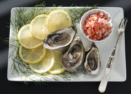 Oysters Banco de Imagens
