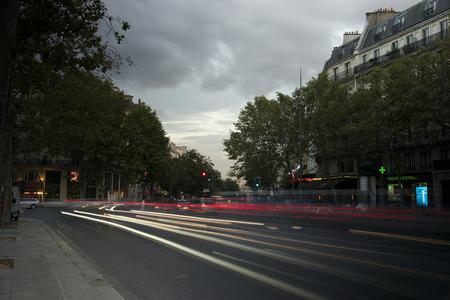 Paris Lights Banco de Imagens