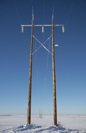 Pole Perspective Banco de Imagens