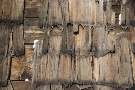 Wood Shingle Texture Banco de Imagens