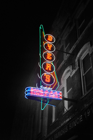Dyer's Neon Sign