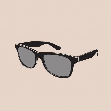 occhiali da sole di moda Vettoriali
