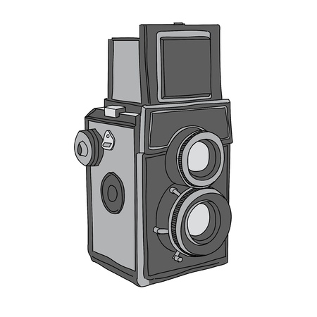 reflex: Hand Drawn of Vector Camera