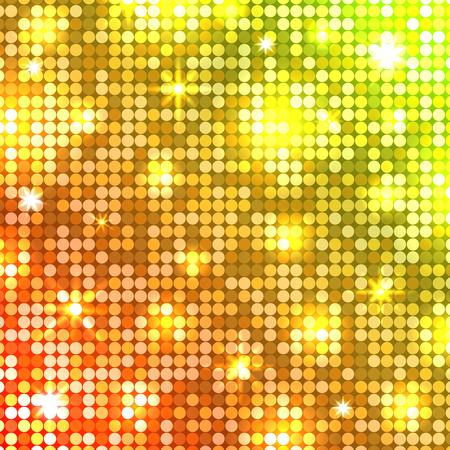 Light mosaic template pattern design. Illustration