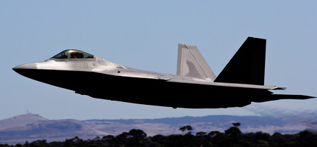 lockheed martin: F-22 Raptor Editorial