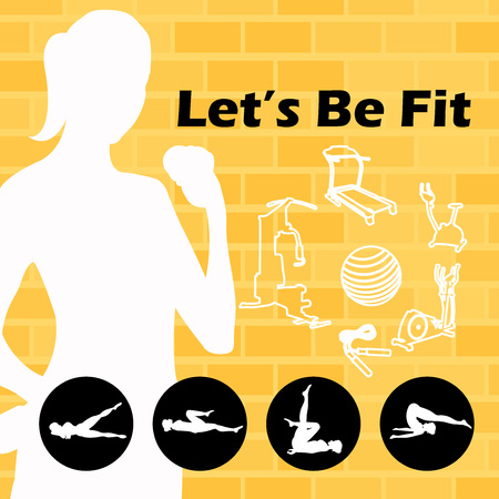 Let's be Fit vector