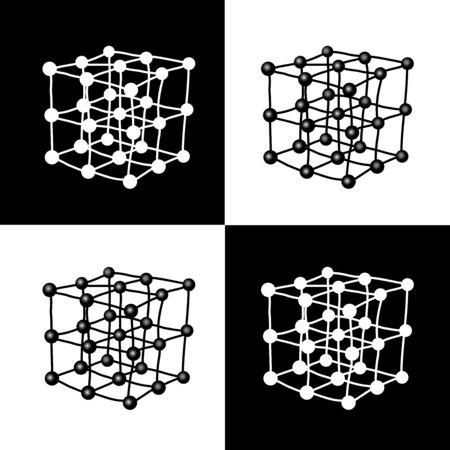 cubes atoms connect
