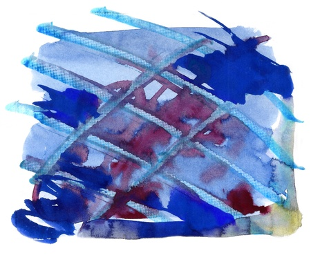 Abstract watercolor handmade effect