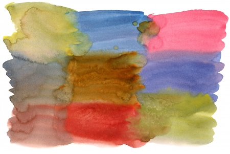 Watercolor background with sguare shapes Stock Photo - 16038598