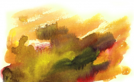 Watercolor yellow background with nice effects