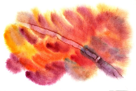 Watercolor background with nice effects