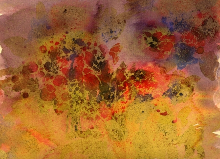 Nice abstract grunge flower background