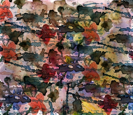 Grunge watercolor splash background