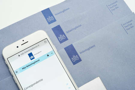 Dutch Tax authority (Correspondence) correspondence, digital mailbox will eventually replace the blue envelope
