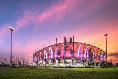 futsal: Stadium Thailand Futsal Editorial