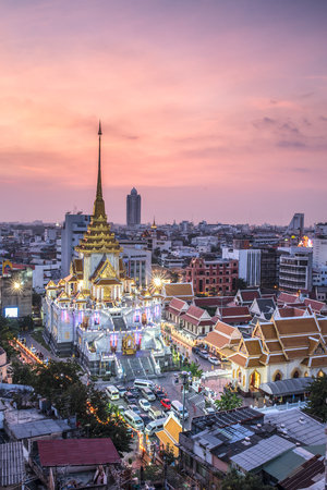 wat traimit: The Marble Temple, Wat Traimit in Bangkok, Thailand