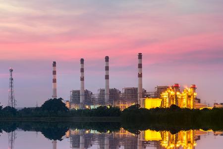 energia electrica: central eléctrica
