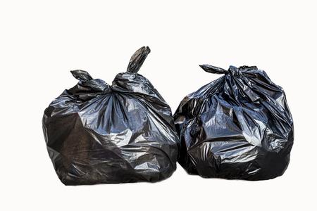reciclar: Garbage a black bag