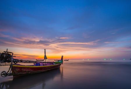long tailed boat: Long tailed boat Ruea Hang Yao in Phuket Thailand Stock Photo