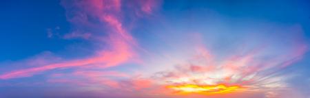 thep: Sunset Sea Laem Phrom Thep Thailand.