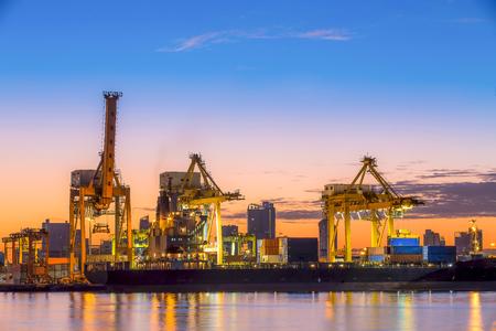 Shipping Port Reklamní fotografie