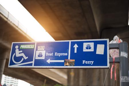 signage: signage Stock Photo