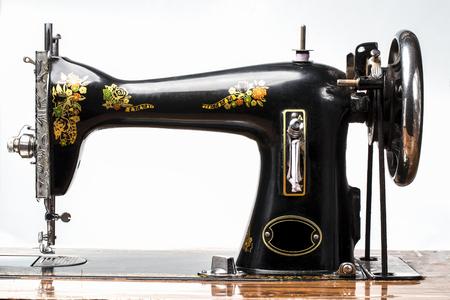 textile machine: Antique Sewing Machine