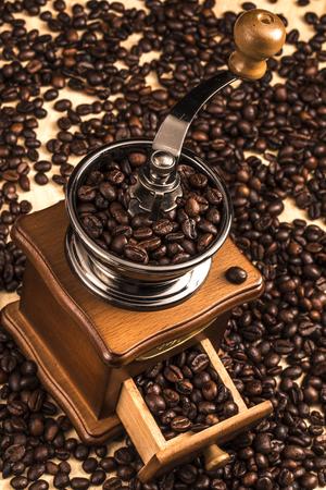 grinder: coffee grinder Stock Photo