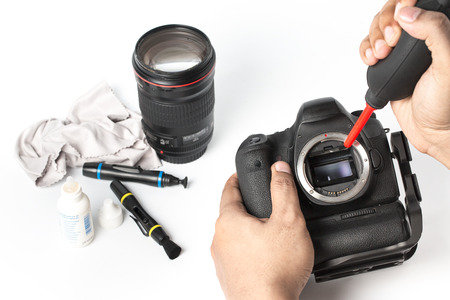 camera lens: Cleaning