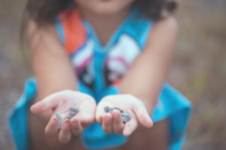 children play: Children play ground  blur